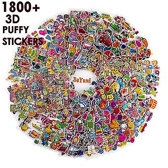 Beyumi 58 different sheets kids stickers (1800+count), 3d puffy stickers, craft scrapbooking for kid