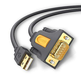Ugreen usb a rs232, convertidor de cable serie usb db9 para routers y conmutadores Cisco, telesc celestron
