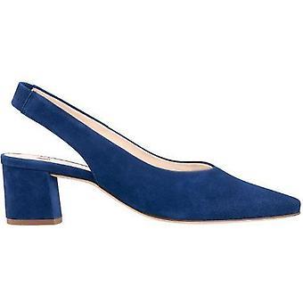 Hogl urbana blue heels womens blue
