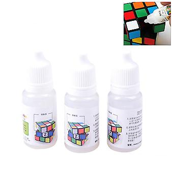 3 Pcs Z-lube Lube Cube Lubricating Oil 10ml Cubo Magic Oil Silicone Lubricants