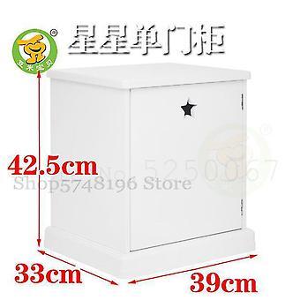 Dzieci&s Meble Łóżko proste nowoczesna szafka do przechowywania (model 1)