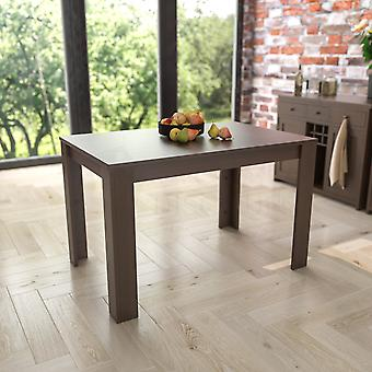 Medine 4 Seater Dining Table, Walnut