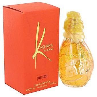 Kashaya De Kenzo Eau De Toilette Spray By Kenzo 2.5 oz Eau De Toilette Spray