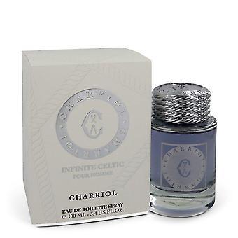 Charriol Infinite Celtic Eau De Toilette Spray By Charriol 3.4 oz Eau De Toilette Spray