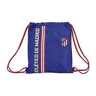Backpack with strings atlético madrid in blue navy blue