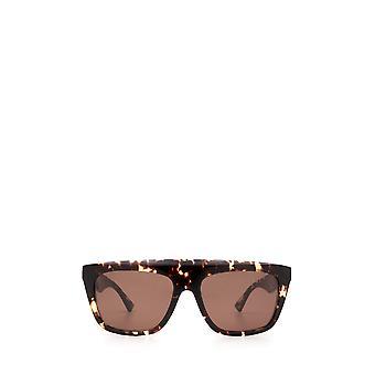 Bottega Veneta BV1060S havana unissex óculos de sol