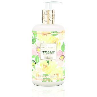 Baylis & Harding Savon pour les mains à la fleur de citronnier et à la rose blanche Royale Bouquet 500 ml