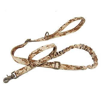 Outdoor nylon dog leash, military fan tactical dog training belt