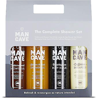 Gerui Complete Shower Gift Set -4 Signature Shower Products For Men - Amazon Exclusive