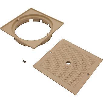 Personalizado moldado 25538-909-000 Conjunto de tampa quadrada e colarinho - Bronzeado