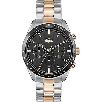 Lacoste 2011112 Men's Boston Two Tone Bracelet Wristwatch