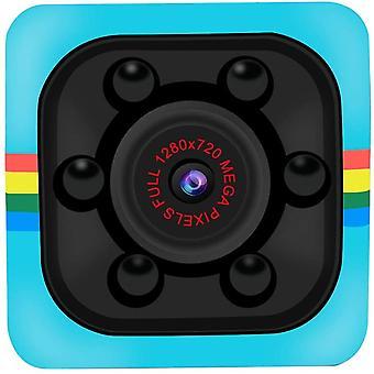 Skjult Spy Kamera Mini Security Surveillance Camera 720P Full HD Wireless Micro Tiny Spy Kamera med App til Home Indendørs Udendørs-Blue