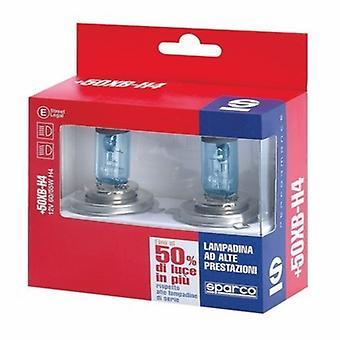 Automotive Lamp Sparco +50XB H1 12V 55W Azul Efecto Xenón