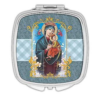 Miroir compact cadeau: Notre-Dame du Perpétuel Secours Catholique