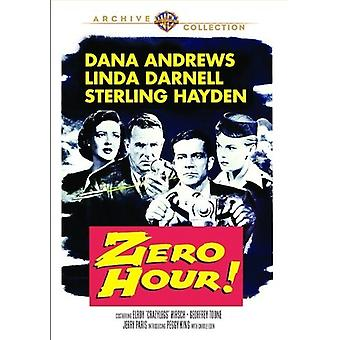Zero Hour [DVD] USA import