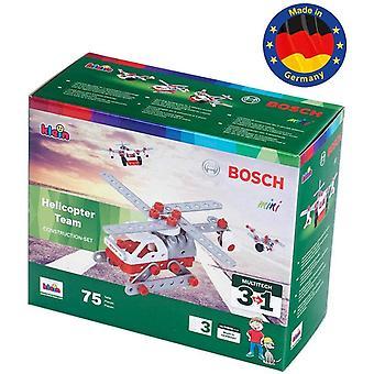 FengChun 8791 Bosch Konstruktionsset, 3 in 1 Hubschrauber Team, Multicolor