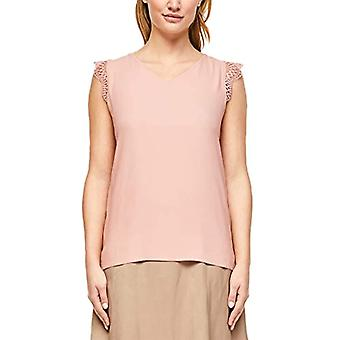 s.Oliver BLACK LABEL T-Shirt armellos, 4251 Dusty Rose, 42 Donna