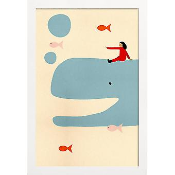 JUNIQE Print - Ocean Adventure - Valas juliste värikäs