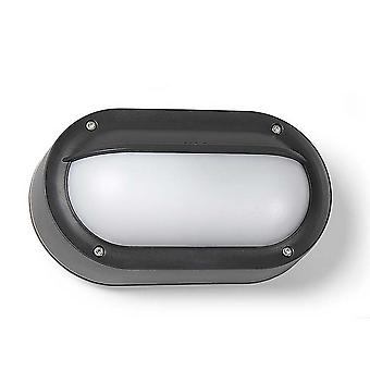 LEDS C4 Basic Soikea Technopolymer Ulkona Yksinkertainen Huuhtelu Musta, Opal IP65 E27
