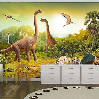 Itseliimautuva fototapetti - Dinosaurs