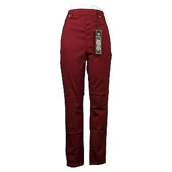 DG2 By Diane Gilman Women's Pants FLEXstretch Denim Jegging Red 718720