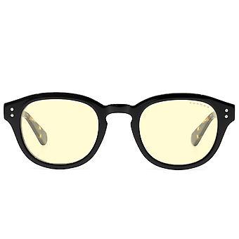 Gunnar Optiks Emery - Onyx & Tortoiseshell Frame - Amber Lens
