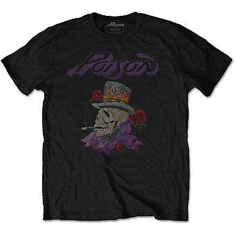 Gift - Rauchen Schädel Unisex XX-große T-Shirt - schwarz