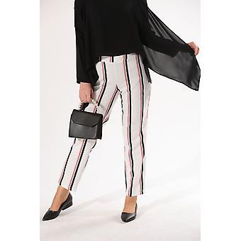 Pantalones elásticos de cintura pull-on
