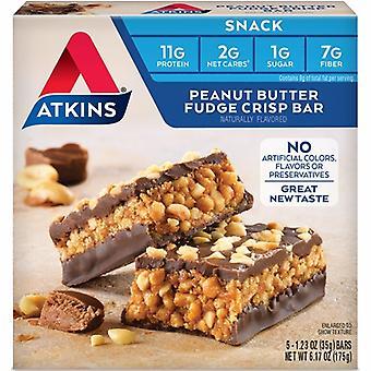 Atkins Breakfast Bar, Peanut Butter, 5 Pack