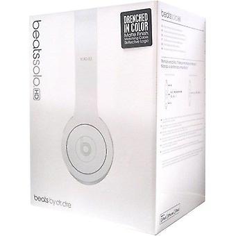 Beats Solo HD V2 On-Ear Headphone - MoNochromatic White