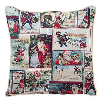 Christmas santa cushion cover | 18x18 christmas cushions | ccov-xmas-father
