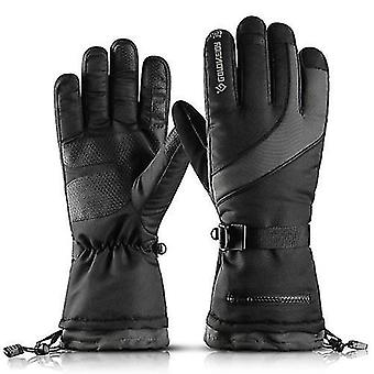 Gloves mittens winter warm gloves skiing gloves men women windproof snow gloves water resistant sports gloves for skiing cycling climbing