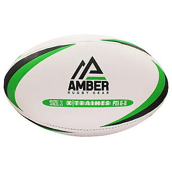 Amber Rugby Ball Sport Match Training League Ball Dimensione 3