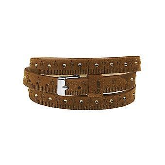 Il mezzometro strass leather bracelet  bms1302_s