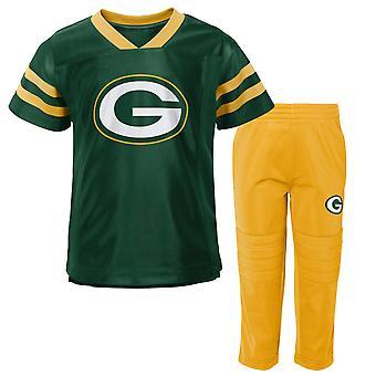Kids NFL Jersey & Pants Set - CAMP Green Bay Packers