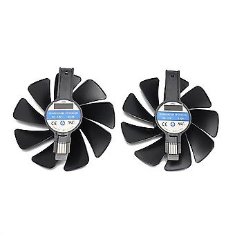 Cooling fan for sapphire radeon rx 470 480 580 570 nitro mining edition rx580 rx480 gaming video card