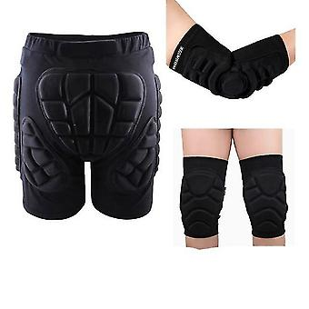 Outdoor Sports Skate Snowboard Protection Skiing Protector Hip Padded Shorts