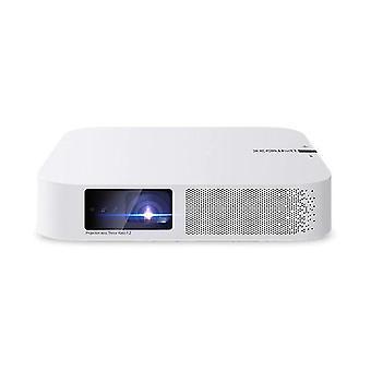 1080P Full HD Projecteur LED Mini portable (Blanc)