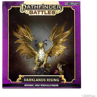 Pathfinder Battles Darklands Rising: Mengkare, Great Wyrm Premium Sett