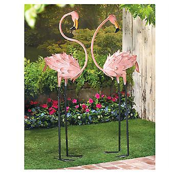 Summerfield Terrace Flirty Flamingo Pair Trávnik Dekorácie, balenie 1