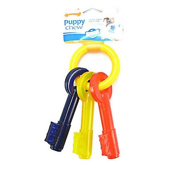 Nylabone Puppy Chew Teething Keys Chew Toy - Large (For Dogs up to 35 lbs)