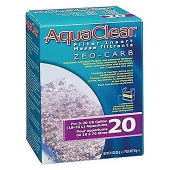 AquaClear Filter Insert - Zeo-Carb - 20 gallon - 1 count
