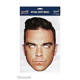Robbie Williams offizielle Single 2D Karte Party Fancy Kleid Maske