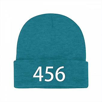 Squid Game Beanie Knit Hat Korean Scary Drama Stretchy Costumes Cap