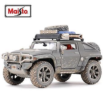Leluautot 1:24 2008 hummer hx concept staattiset die cast ajoneuvot keräilymalli urheiluauto
