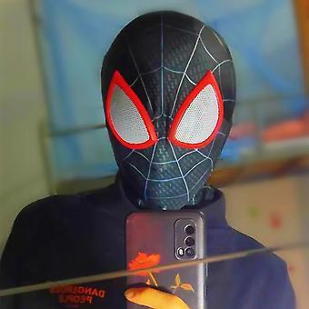 Children's Spider Headgear Cosplay Extraordinary Black Spiderman Funny Halloween Mask Mask