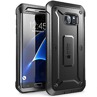 Galaxie S7 Edge, SUPCASE, plein-corps robuste étui cas sans protecteur d'écran pour Samsung galaxie S7 Edge-noir