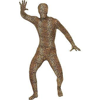 Segunda pele de leopardo traje, traje de Leo Stretchanzug leopardo