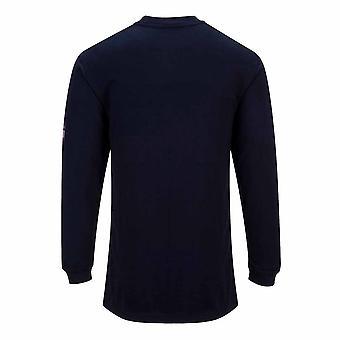 Portwest - Flame Résistez À un T-Shirt anti-statique à manches longues