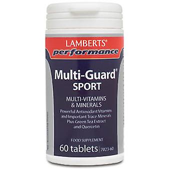 Lamberts Multi-Guard Sport, 60 tablets